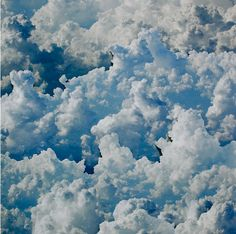 Becky Comber- cloud view (chance encounter) (photo collage)
