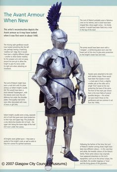 A French knight from 1430's