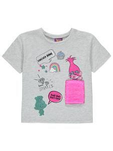 Girls DreamWorks Trolls Clothes Online: Trolls T Shirt – Novelty-Characters