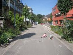 vauban freiburg - car restricted living