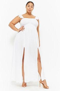 b699e98b7c Plus Size Boho Me Smocked Maxi Dress
