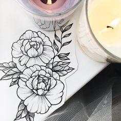 """684 Likes, 5 Comments - Tattoo Studio (@pakhanoff.tattooart) on Instagram: """"Свободная флористика от Карины @karina_scawoottt  запись 6-28 августа  Запись через и…"""""""