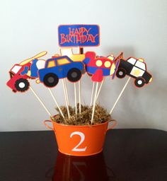 Transportation theme birthday