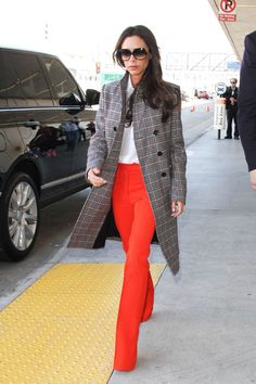 When You're A Minimalist, But Also A Spice Girl #refinery29  http://www.refinery29.com/2016/01/101670/victoria-beckham-street-style-pictures#slide-7  Lookin' fly. (Get it?)...