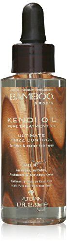 ALTERNA BAMBOO Smooth Pure Kendi Oil Pure Treatment Oil 17 fl oz * Click on the image for additional details.