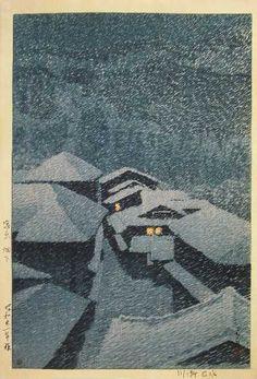 Kawase Hasui, my favorite Japanese woodblock artist
