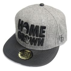 HomeGrown Smoke Clouds Clasp back Hat