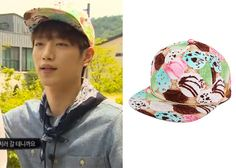 """Seo Kang-Joon 서강준 on """"Roommate"""" Episode 11. Piecemaker Ice Cream Snapback #Roommate 룸메이트 #SeoKangJoon"""