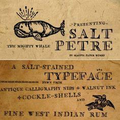 via // typography / magpie paperworks