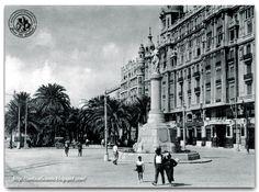 Monumento y Paseo de los Mártires, actual Explanada en Alicante