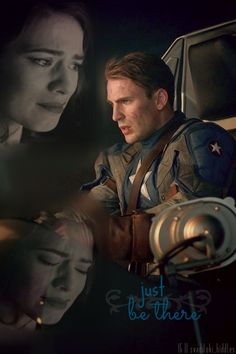 Just be there    Steve Rogers and Peggy Carter    Captain America TFA    #hmsbestgirl #fanedit