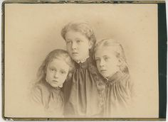 Duchess Marie Gabrielle, Sophie and Elisabeth, daughters of Karl Theodor in Bayern.  If you have lots of bucks, you can buy it here