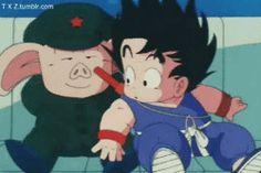 Goku es un loooooquillo.