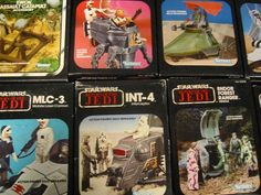 We're going to need one of each for... archiving. Yep archiving. #StarWars #Vintage - Get all my secret travel hacks http://ift.tt/1PY2sl0