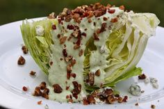 EVERYDAY SISTERS: Wedge Salad with Avocado Ranch Dressing