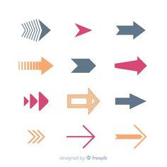 Arrow Doodle, Doodle Art, Arrow Illustration, Hand Drawn Arrows, Arrow Signs, Doodle Designs, Travel Design, Social Media Logos, Art Deco Design