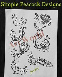 39 Warli Peacocks Ideas Henna Peacock Henna Designs Henna