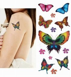 The 10 Very Best Butterfly Tattoo Ideas for Girls
