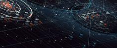 Ash Thorp Enders Game Design UI UX Futuristic