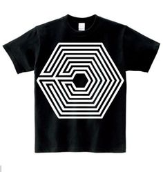 Hot Sale Men And Women s Fashion K-pop Star EXO s Stage Clothing Of  OVERDOSE Maze Pattern Cotton Short Sleeve Hip-Hop Street Dancing And Rap  Style ... 53db40975391