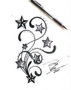 Stars And Tribal By Bixotattoo Designs Interfaces Tattoo Design 2009