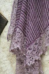 Ravelry: Raison et Sentiments pattern by Christelle Nihoul garter lace