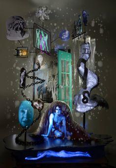 Tony Oursler - Phantasmagoria | MAC's > http://www.mac-s.be/nl/expositions/Nu-in-het-MACs