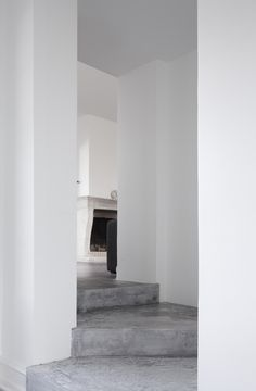 concrete floors | via bo bedre; copenhagen home of jonas bjerre-poulsen from norm architects (photo by jonas bjerre-poulsen)