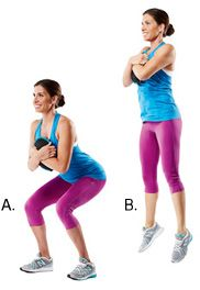 Try the SandBells workout for better butt and thighs (via @Prevention Magazine)