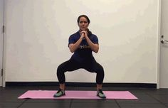 Lateral Step-Out Squat: 5 Lower Body Exercises to Target Your Butt, Hips and Thighs Fat To Thin, Coach Sportif, Daily Burn, Back Exercises, Stretches, Core Muscles, Hip Workout, Hiit, Glutes