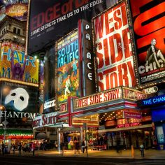 New York City Broadway Times Square Theater District Art Print Poster - custom fit with RichAndFramous Black 36 inch Poster Hangers Broadway Tickets, Broadway Nyc, Broadway Plays, Broadway Theatre, Broadway Shows, Musical Theatre, Musical Quiz, Broadway Wedding, Broadway Party