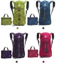 Outdoor Sports 32L Folding Waterproof Nylon Backpack/US STOCK and SHIPPING 2016! #HASKY