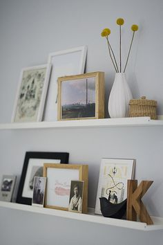 Picture ledge in the office | Flickr - Photo Sharing!
