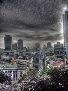 50 Beautiful HDR Images from 50 World Cities -Santiago Chile
