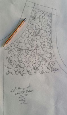 Border Embroidery Designs, Hand Embroidery Videos, Hand Work Embroidery, Embroidery Flowers Pattern, Simple Embroidery, Hand Embroidery Stitches, Embroidery Techniques, Ribbon Embroidery, Floral Embroidery