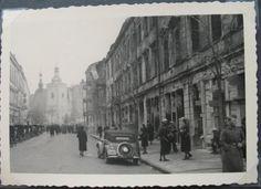 Kapucyńska 1940 r. My Kind Of Town, Poland, Street View, Historia, Fotografia