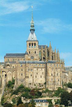 Abadía de Mont Saint Michel, France