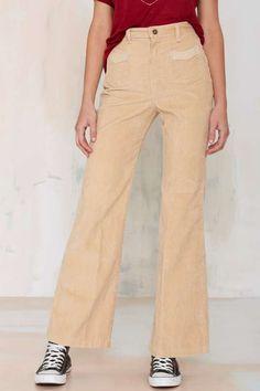 Vintage Trixie Corduroy Wide Leg Pants
