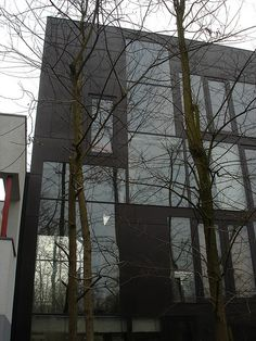 Double House (Utrecht) Utrecht, Rotterdam, Double House, Netherlands, Villa, Architecture, Plants, Houses, Inspiration