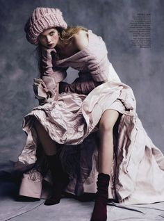 Holly Rose by Nicole Bentley for Vogue Australia