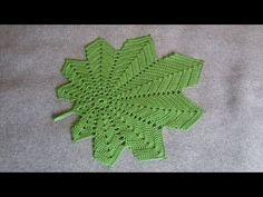 Serwetka - Liść klonu/Podkładka pod talerz - Szydełko - YouTube Crochet Leaves, Doilies, Make It Yourself, Blog, Youtube, Videos, Holiday Crochet, Slippers, Tejidos