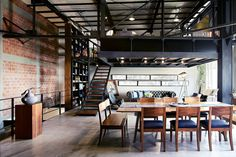 Un loft in stile industriale in Messico