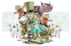 ' Alice in Wonderland ' by Ruben Martinez
