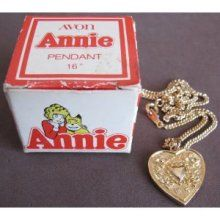 Annie's locket.  I would have died for this back in the day. I did! I begged my dad to take me and get it, he did bless him