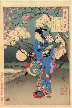 Tsukioka Yoshitoshi, (100 Phases), June 1891