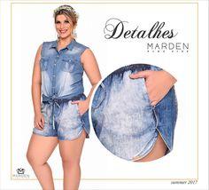 Short jeans - plus size