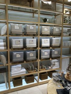 This linen Milano Collection is only available in flagship stores . . .