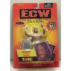 Sabu - ECW - Original San Francisco Toymakers 1999 ---> shipping is $0.01 !!!