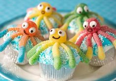 How To Make Under-the-Sea Cupcakes