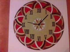 Hodiny mandala za 28€   Jaspravim.sk Mandala, Clock, Wall, Home Decor, Watch, Decoration Home, Room Decor, Clocks, Walls